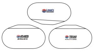 NASCAR Quad-Oval Cookie Cutters