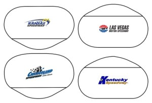 NASCAR Tri-Oval Cookie Cutters