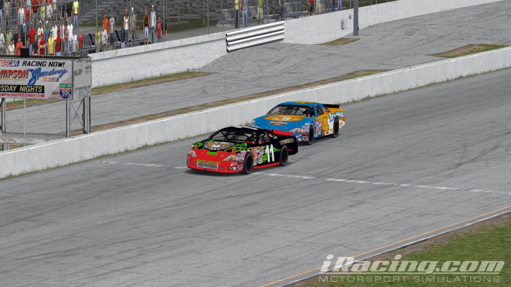 iRacing Late Model Henry Taylor 11