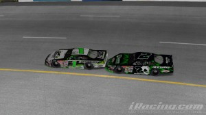 Scott Howell #1 and Kevin Berg #2, iRacing Late Models