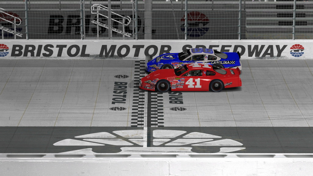 iRacing Late Model Finish at Bristol