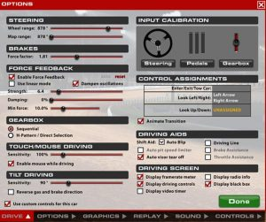 Automatically Set and Save iRacing FFB settings Per Car