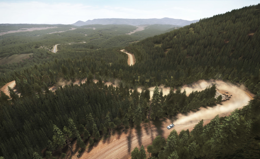 Dirt Rally Pikes Peak Scenery