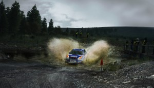 Dirt Rally Water Splash