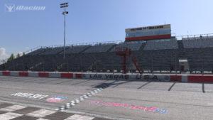 iRacing Bullring at Las Vegas Motor Speedway 1