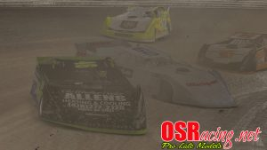 OSR Pro Late Models at Volusia Speedway, May 14, 2017. Image by Mark Bratcher.