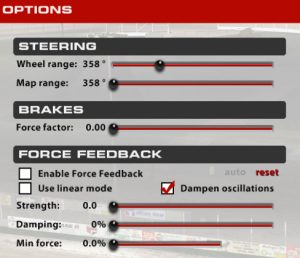 Logitech G27, G29, and G920 Settings in iRacing