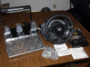 Wheel, Pedals, Hardware and Documentation