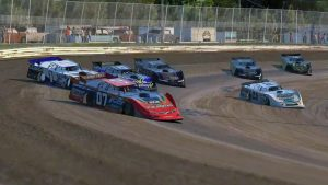 iRacing World of Outlaws Late Model Championship Round Six A-Main Image One
