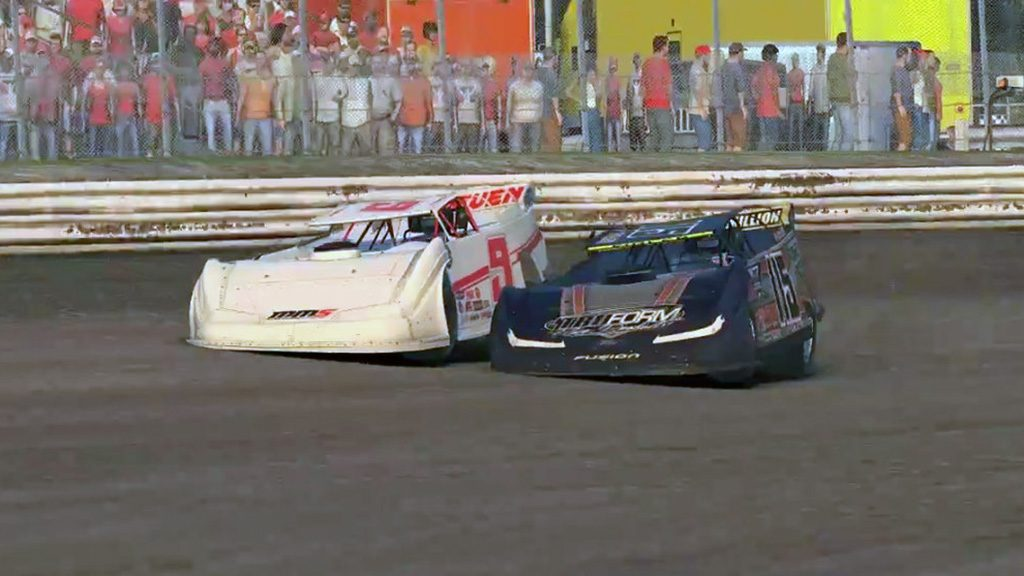 iRacing World of Outlaws Late Model Championship Round 6 Heat 1 Image 1