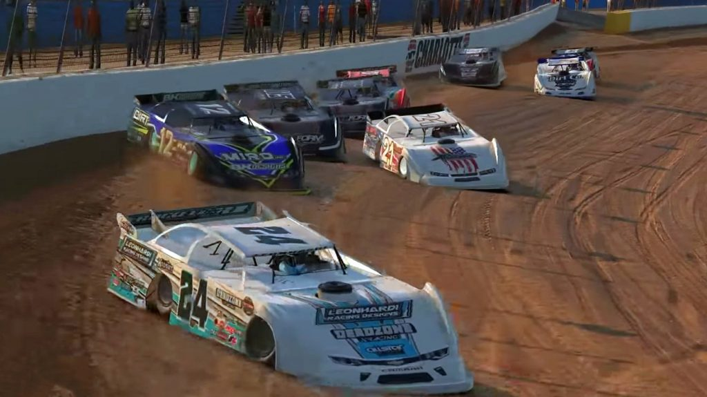 iRacing World of Outlaws Late Model Championship Round 5, Heat Race 1