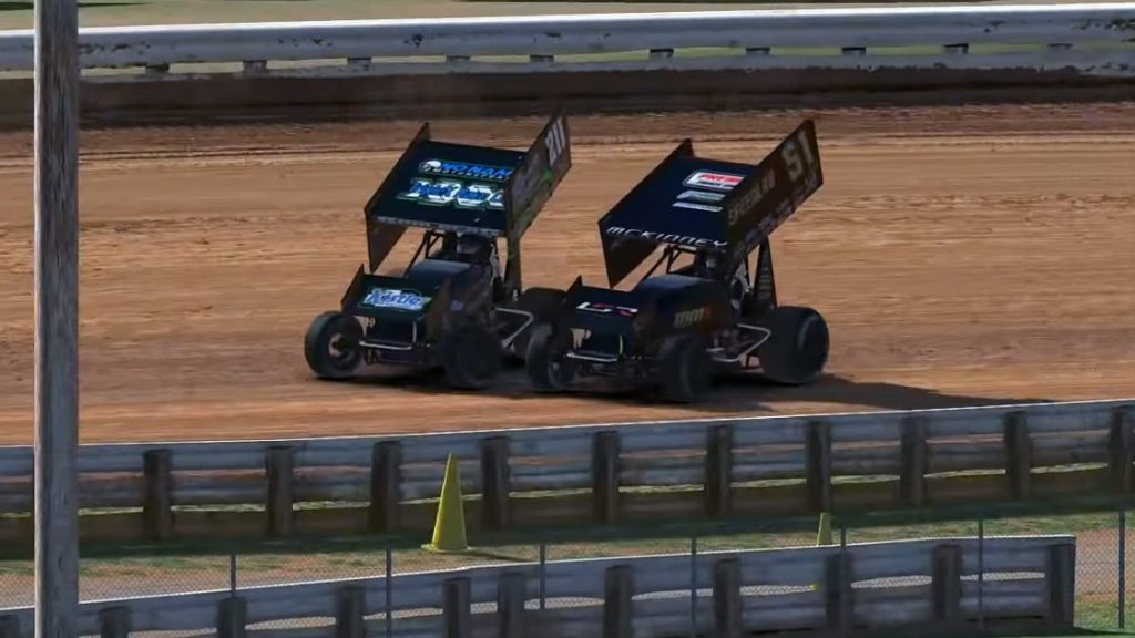 iRacing World of Outlaws Sprint Car Championship Round 6 Last Chance Race Image 1