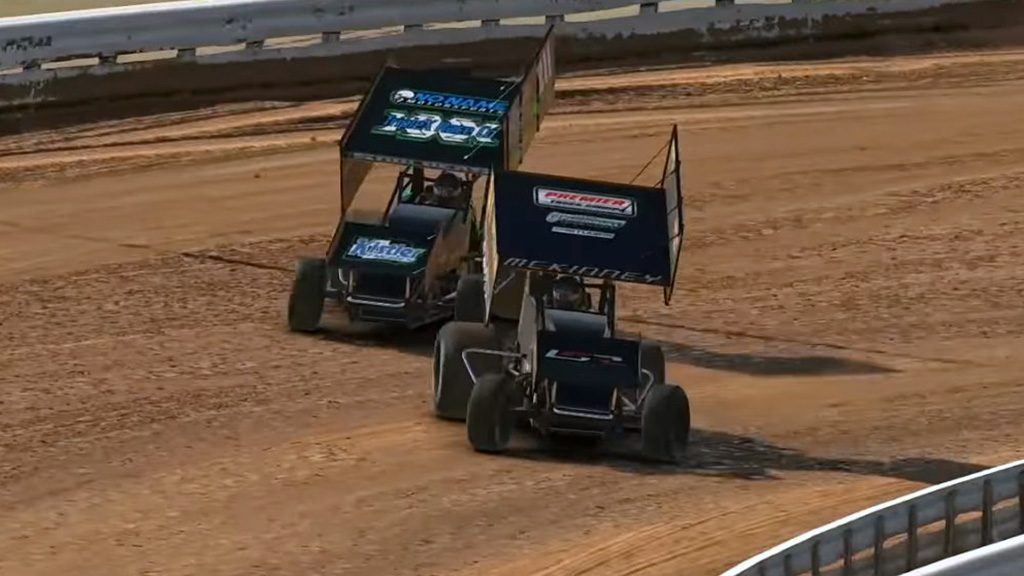 iRacing World of Outlaws Championship Round Six Last Chance Race Image 3