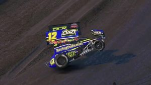 iRacing World of Outlaws Championship Round Seven Feature Winner, Alex Bergeron
