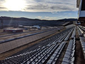 North Wilkesboro Speedway from the grandstands.