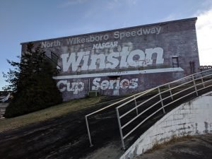 North Wilkesboro Speedway old coming in 2.