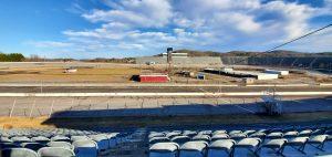 North Wilkesboro Speedway clean track.