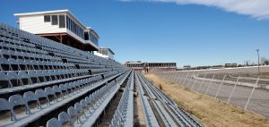 Another view from North Wilkesboro Speedway grandstands.